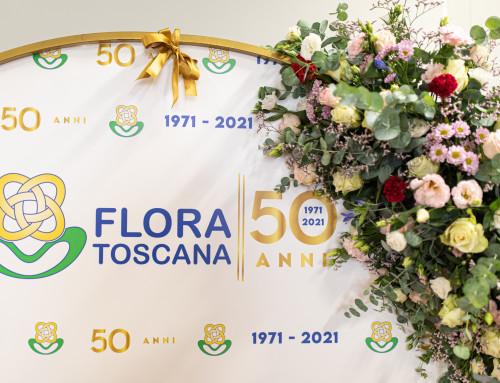 La festa dei 50 anni di Flora Toscana  – 18/09/21